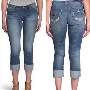 Rock & Republic size 12 Kendall Capri Jeans